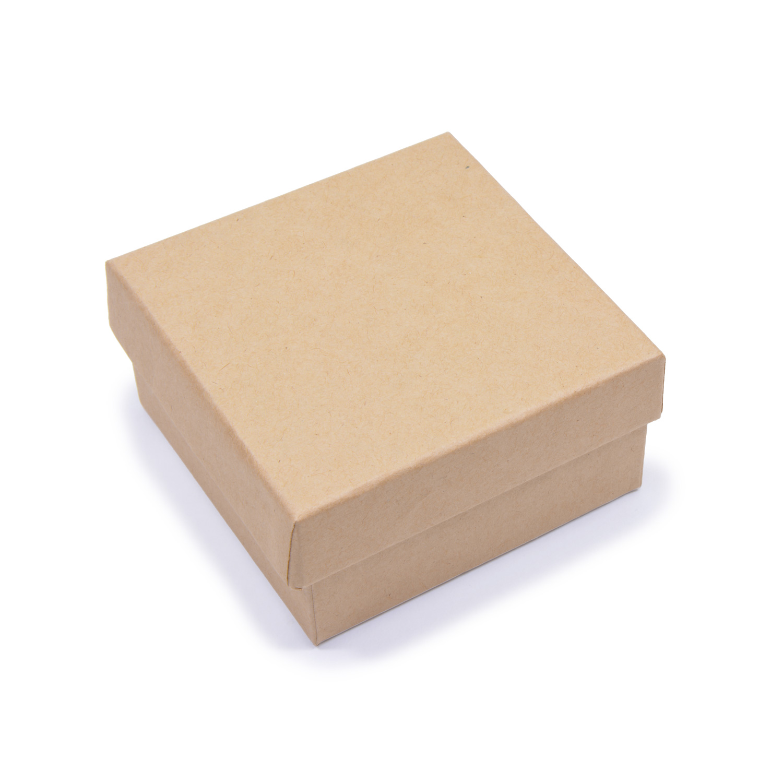 Заготовка из картона Шкатулка Квадрат 1шт 9x9x4,5см