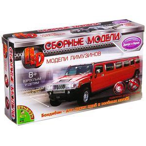"Сборная модель 4D Автомобиль ""Limousine Lincoln SS-100-X 1963"""