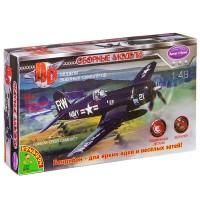 Сборная модель 4D модель Самолет №1 1:48 пласт