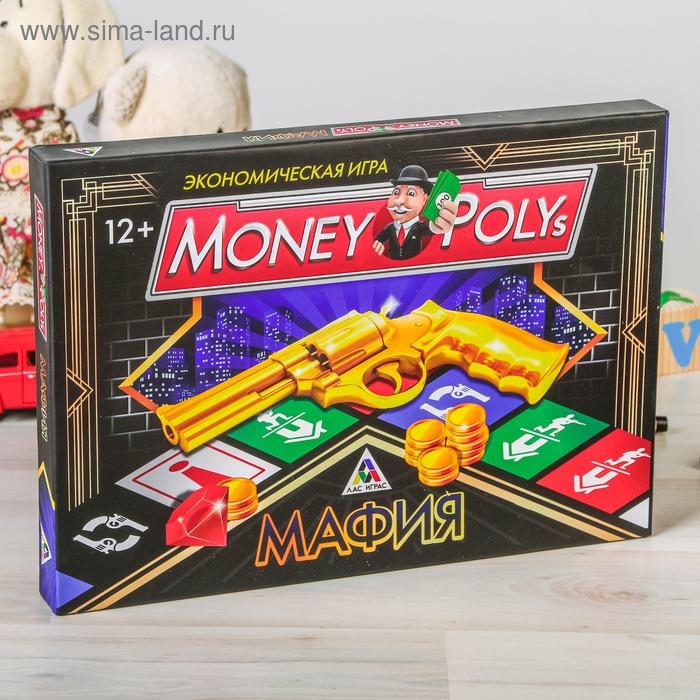 """Настольная Экономическая """"Money Polys МАФИЯ"""""""
