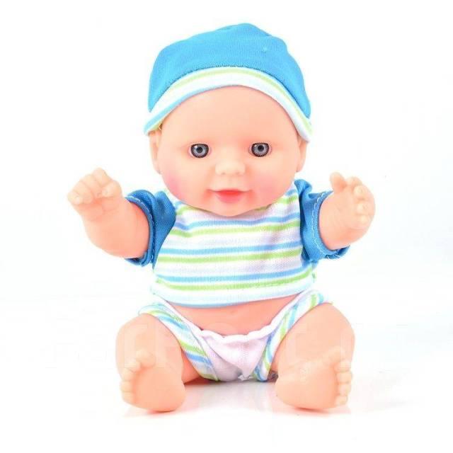 Кукла Пупс Счастливый карапуз 19см (эффект живых глаз)