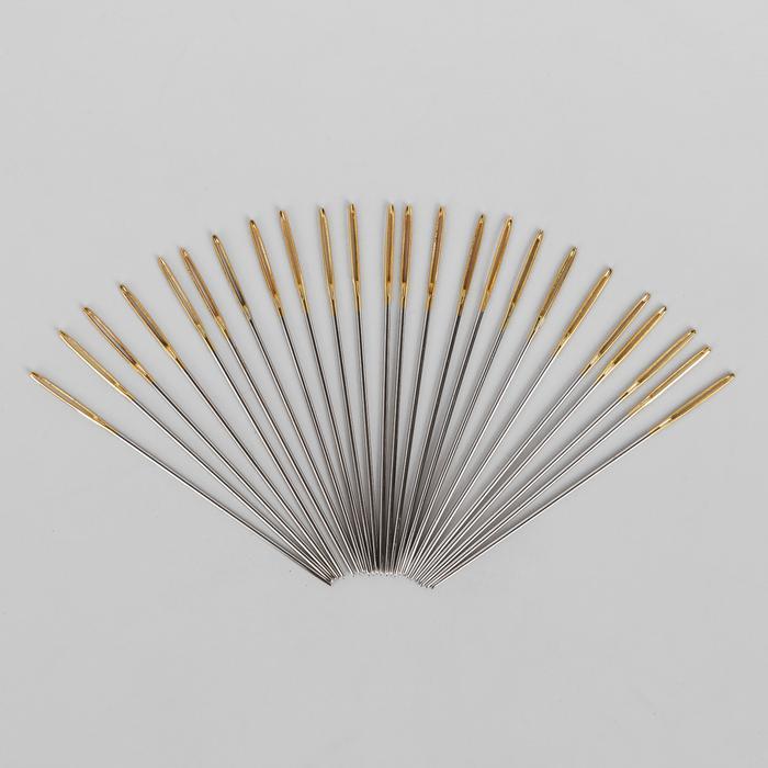 Иглы для вышивания по гобелену №28 25шт закругленное острие