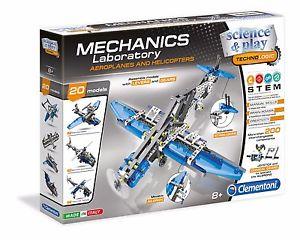 Конструктор Clementoni металлический Самолеты и вертолеты