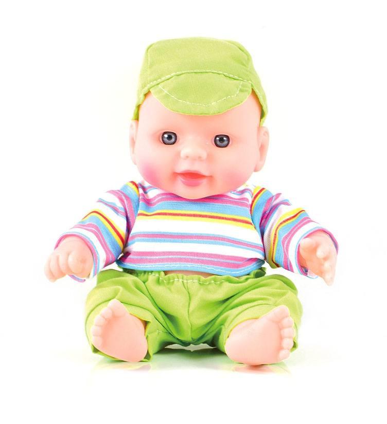 Кукла Пупс Веселый озорник 19см (эффект живых глаз)