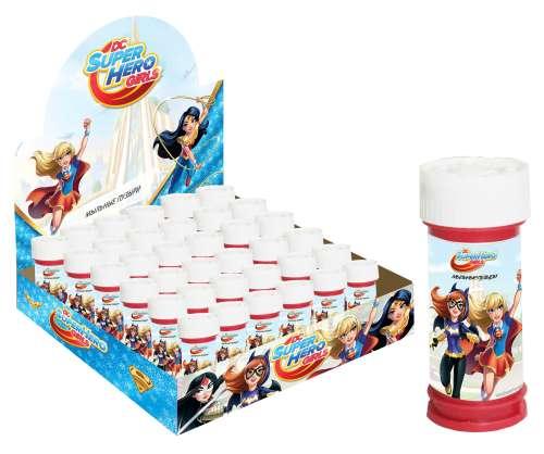 Мыльные пузыри 50мл Super Hero Girls