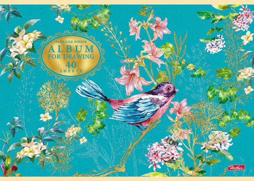 Альбом д/рис 40л Райские пташки