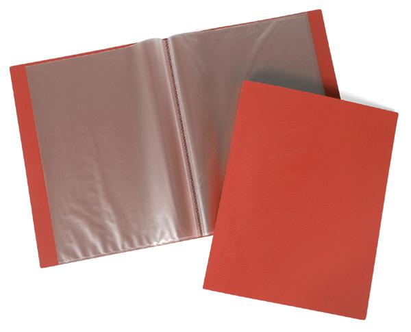 Папка-файл А4 60л LINE Красная