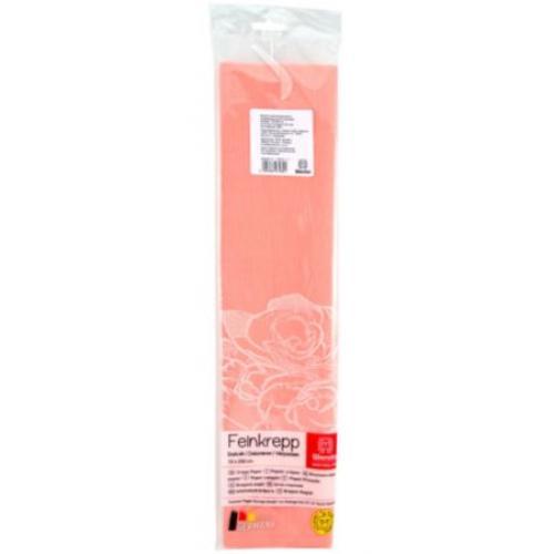 Бумага креповая 50*250см персиковая