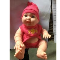 Кукла Пупс Сашенька в рюкзачке, 26 см