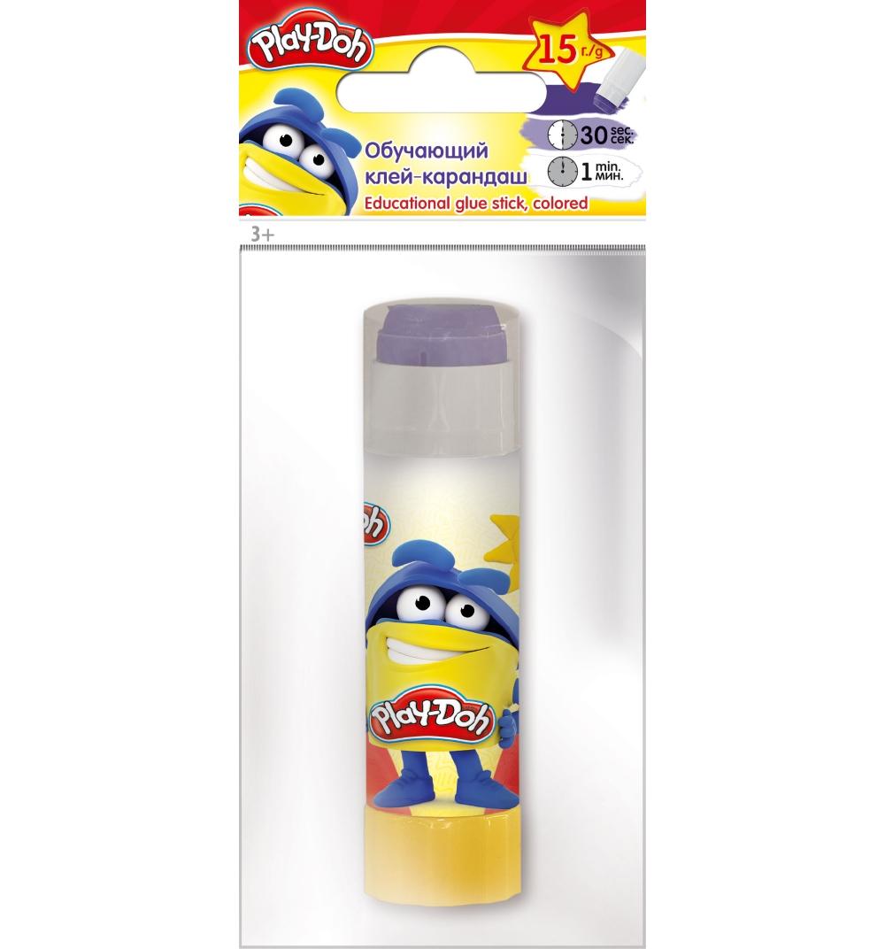 Клей-Карандаш 15гр Play-Doh волшебный цветной