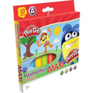 Фломастеры 10 цв Play-Doh МАХI треугольные