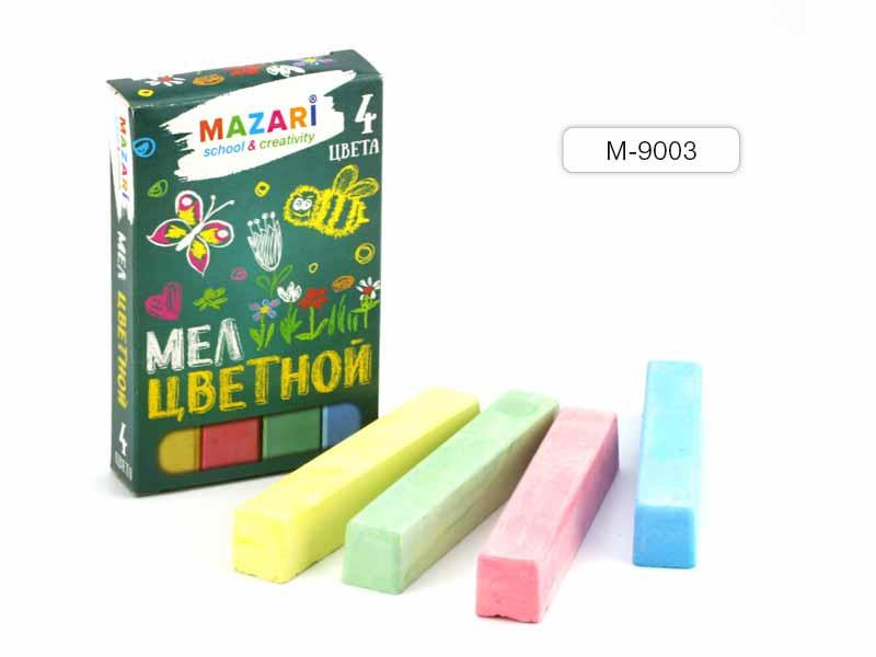 Мелки цветные 4 шт Mazari
