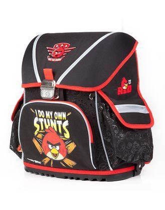 Ранец Hatber Angry Birds черный-красный