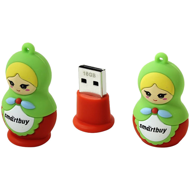 Флэш-карта USB 16GB Smartbuy Матрешка USB2.0