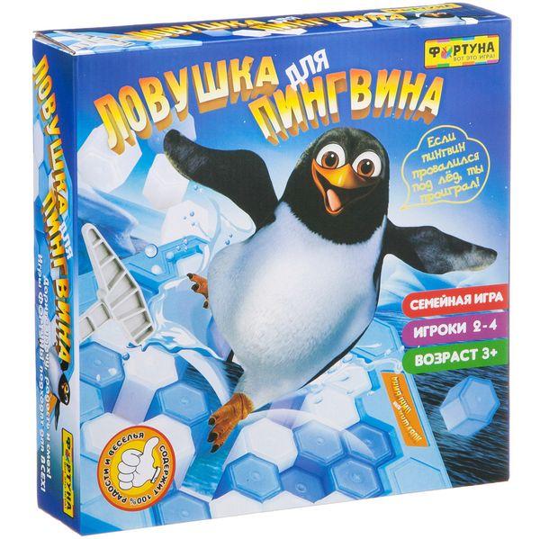 Игра Настольная Ловушка для пингвина