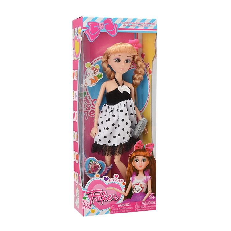 Кукла Школьница 28,5см + аксесс.