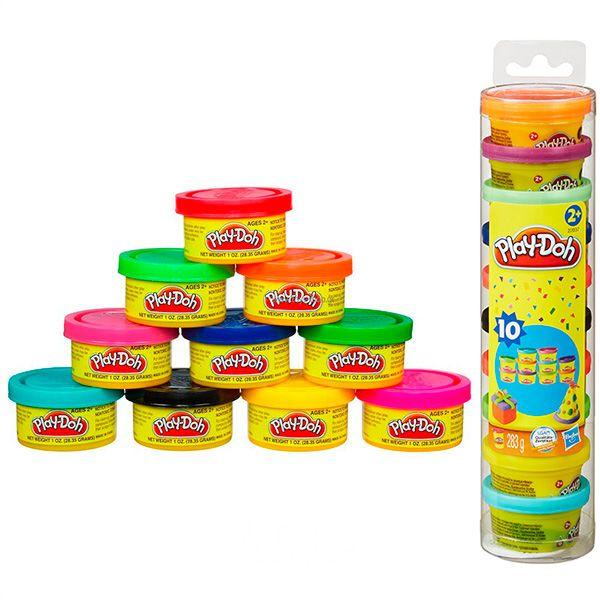 Творч Play-Doh Набор для праздника (пластил. 10бан.) МАХ СКИДКА15%