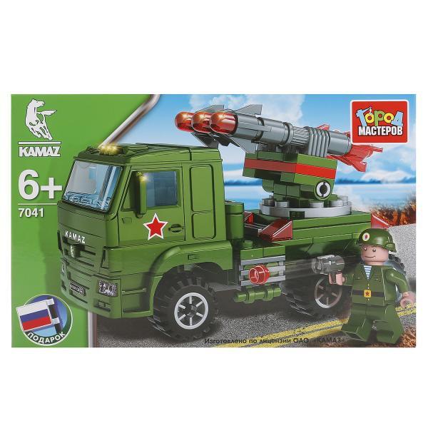 Конструктор Камаз: ракетная установка с фигуркой пласт.