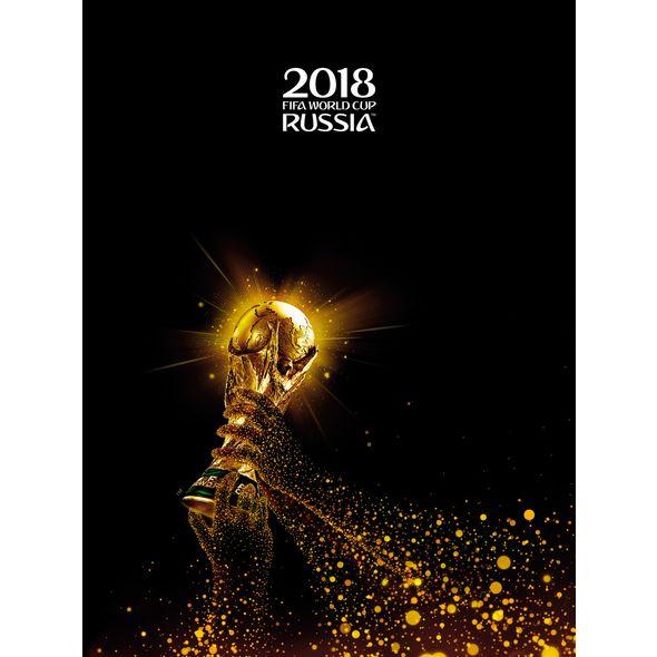 Папка с 4 кольцами 35мм ЧМ ПО ФУТБОЛУ 2018-Золотой кубок
