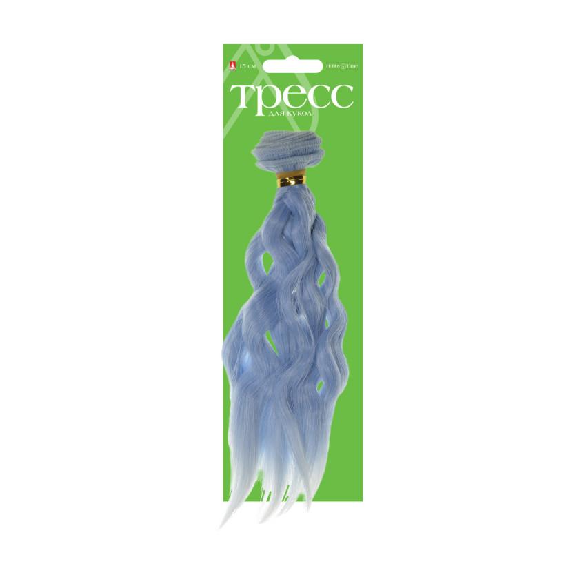 Творч Волосы-тресс для кукол Пряди 15см лента - 1 м, цвет МИКС