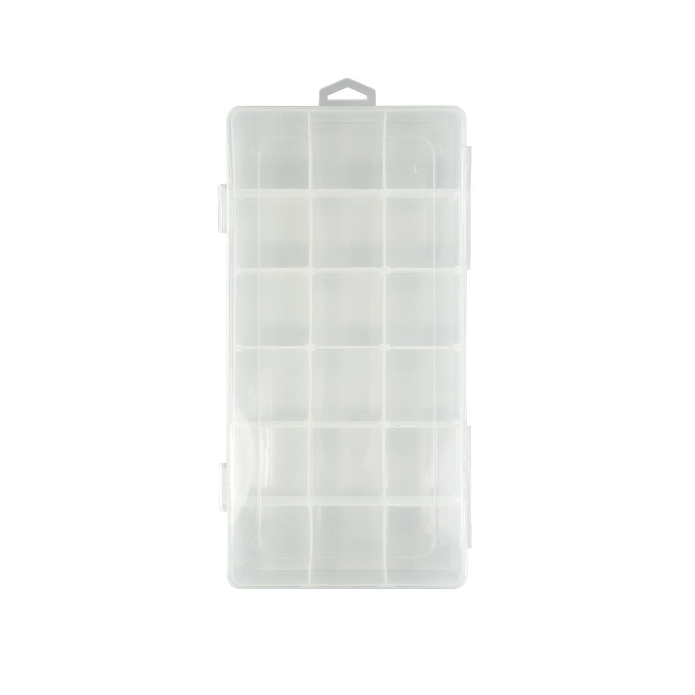 Контейнер пластик 23*11.7*4.3см со съемными разделителями