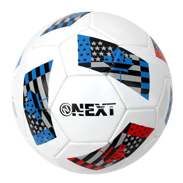 Мяч футбольный next, пвх 2слоя, 5 р., камера рез., маш.обр.