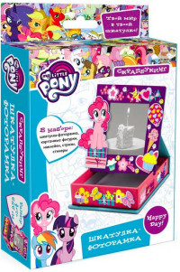 Шкатулка-фоторамка My Little Pony 10х10х3
