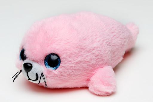 Мягконабивная Нерпа Пушистик розовый