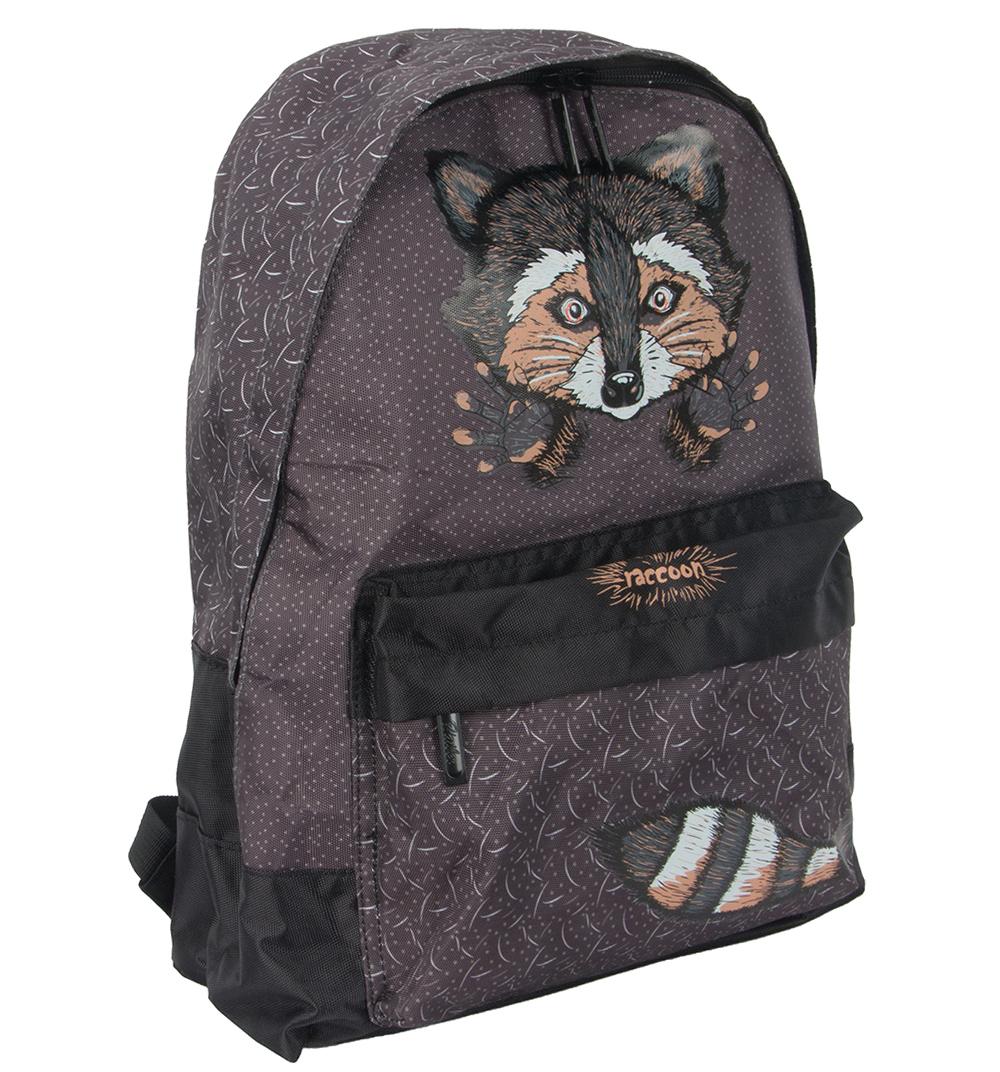 Рюкзак молодежный Hatber Raccoon