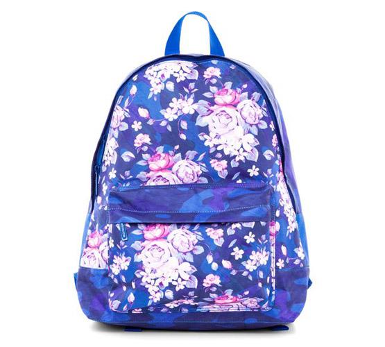 Рюкзак молодежный Hatber Цветочный принт