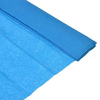 Бумага креповая 50*200см синяя