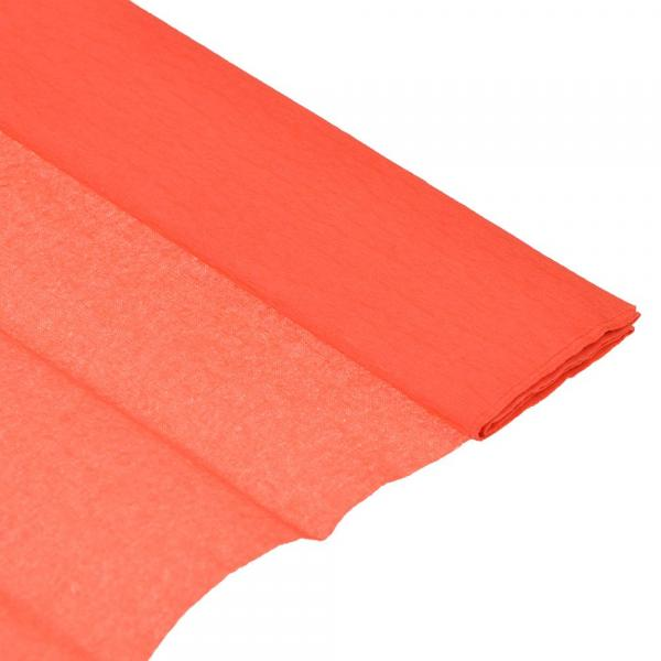 Бумага креповая 50*200см красная