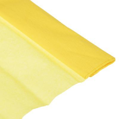 Бумага креповая 50*200см желтая