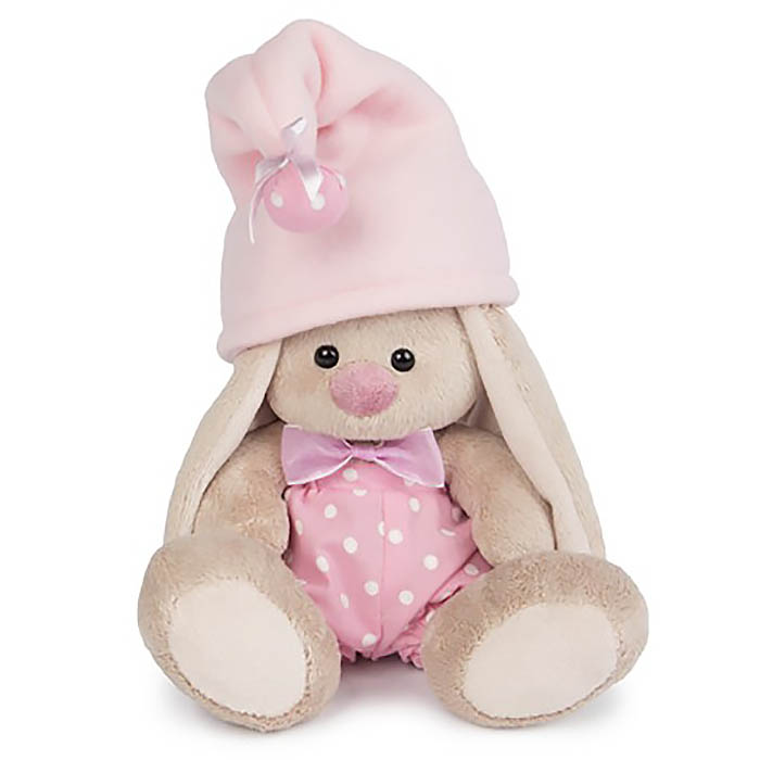 Мягконабивная BUDI BASA Зайка Ми-гномик в розовом (малыш)