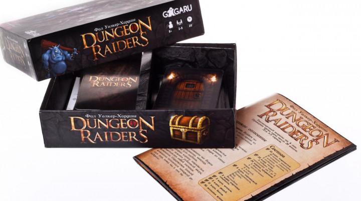 Игра Настольная Расхитители подземелий (Dungeon Raiders)