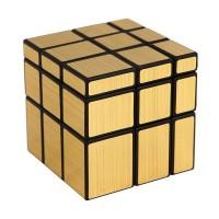 Головоломка Зеркальный Кубик Золотой 3*3