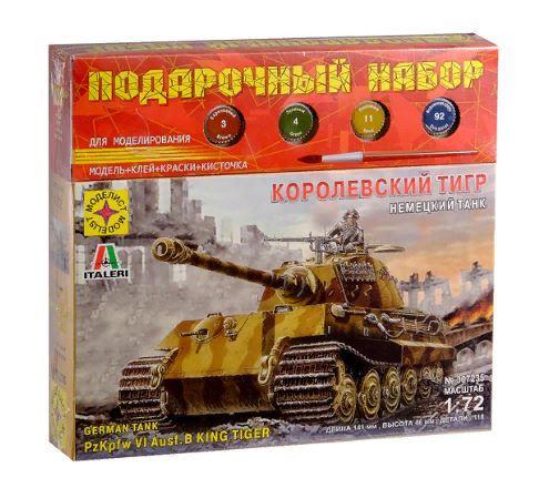 Сборная модель Немецкий танк Королевский тигр  (1:72)