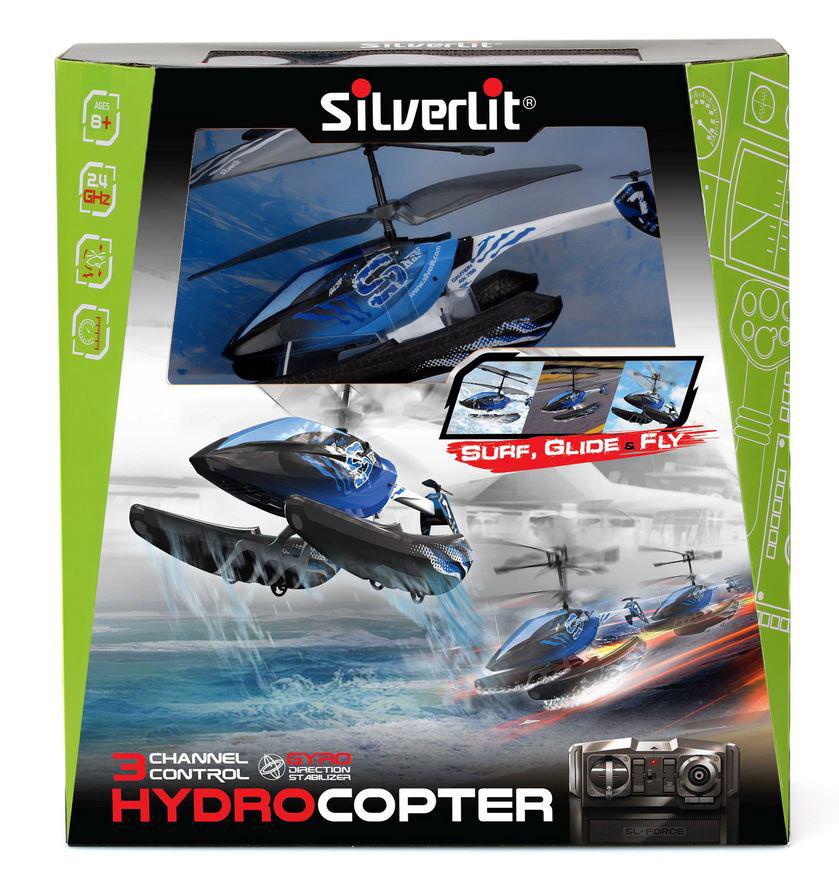 Вертолет Гидрокоптер 3-х канальный