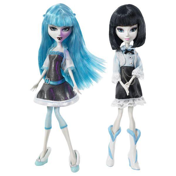 Кукла Mistixx Vampiries Azra с одеждой День&Ночь