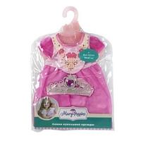 Одежда для куклы 38-43см, платье с аксессуаром