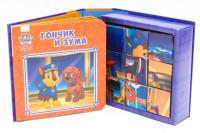 Гончик и Зума: Книжка с кубиками