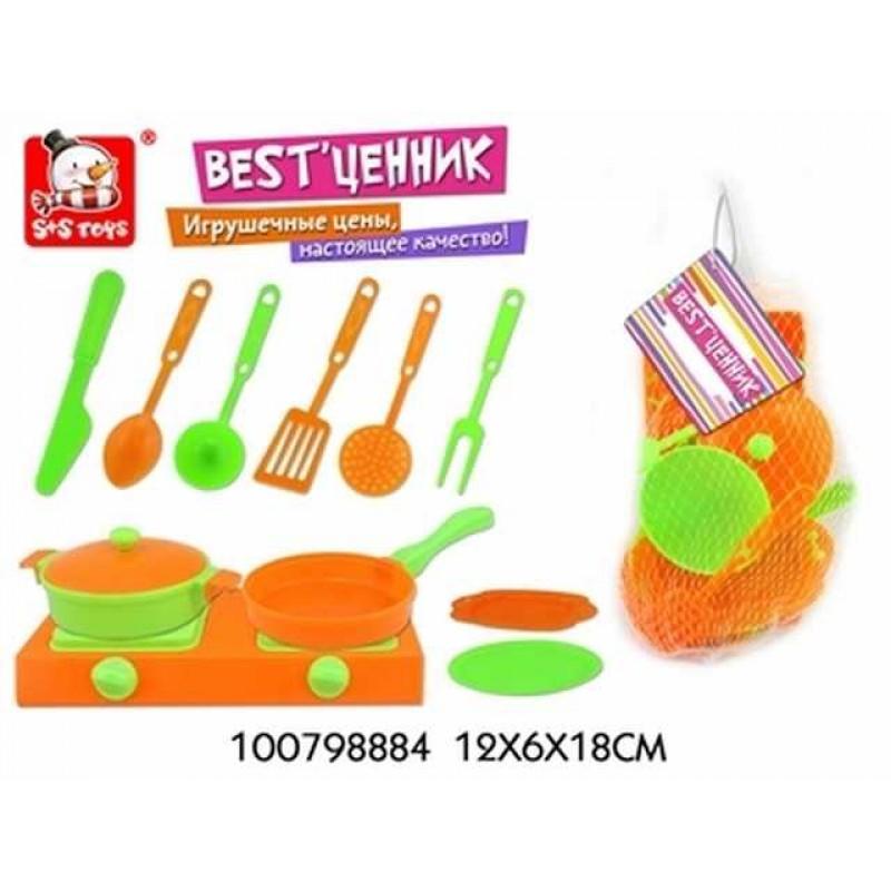 Набор посуды пластм