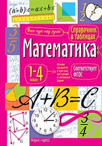 Справочник в таблицах. Математика. 1-4 классы ФГОС