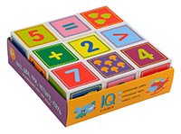 Умные кубики в поддончике 9шт. Раз, два, три, четыре, пять