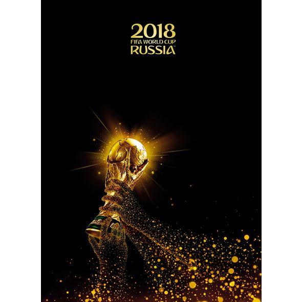 Тетрадь А4 80л кл тв ЧМ по Футболу 2018-Золотой кубок-