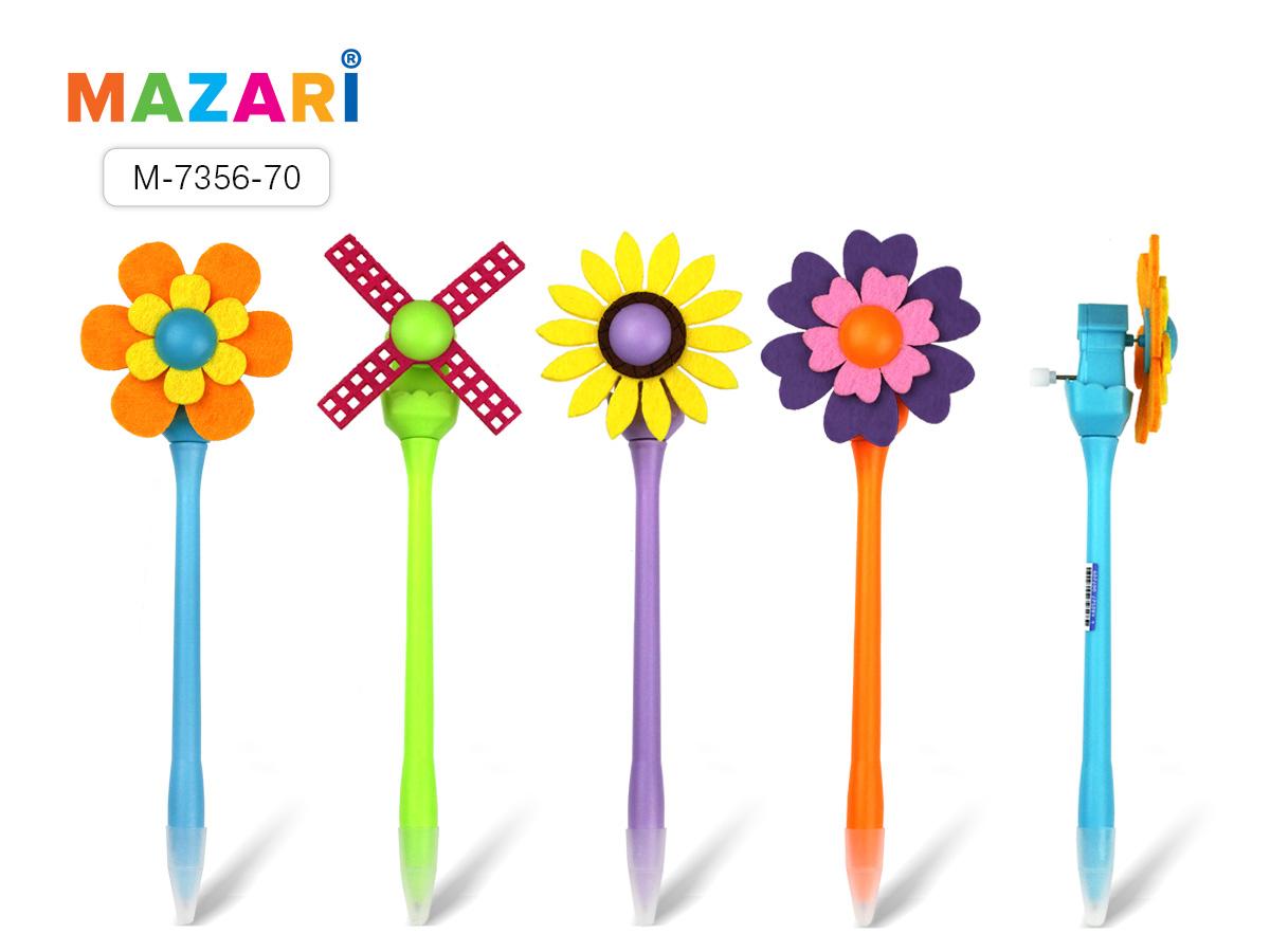 Ручка шариковая Mazari синяя 0.7мм Trotolla