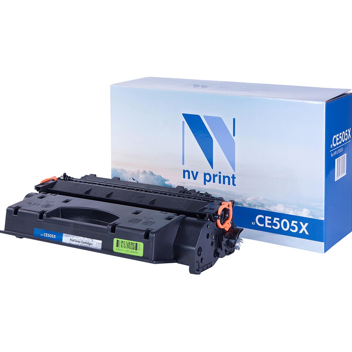 Картридж NVP совместимый HP CE505X