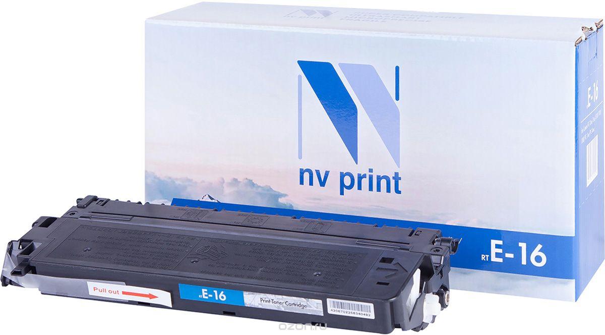 Картридж NVP совместимый Canon E-16