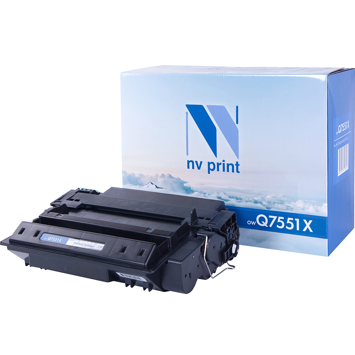 Картридж NVP совместимый HP Q7551X