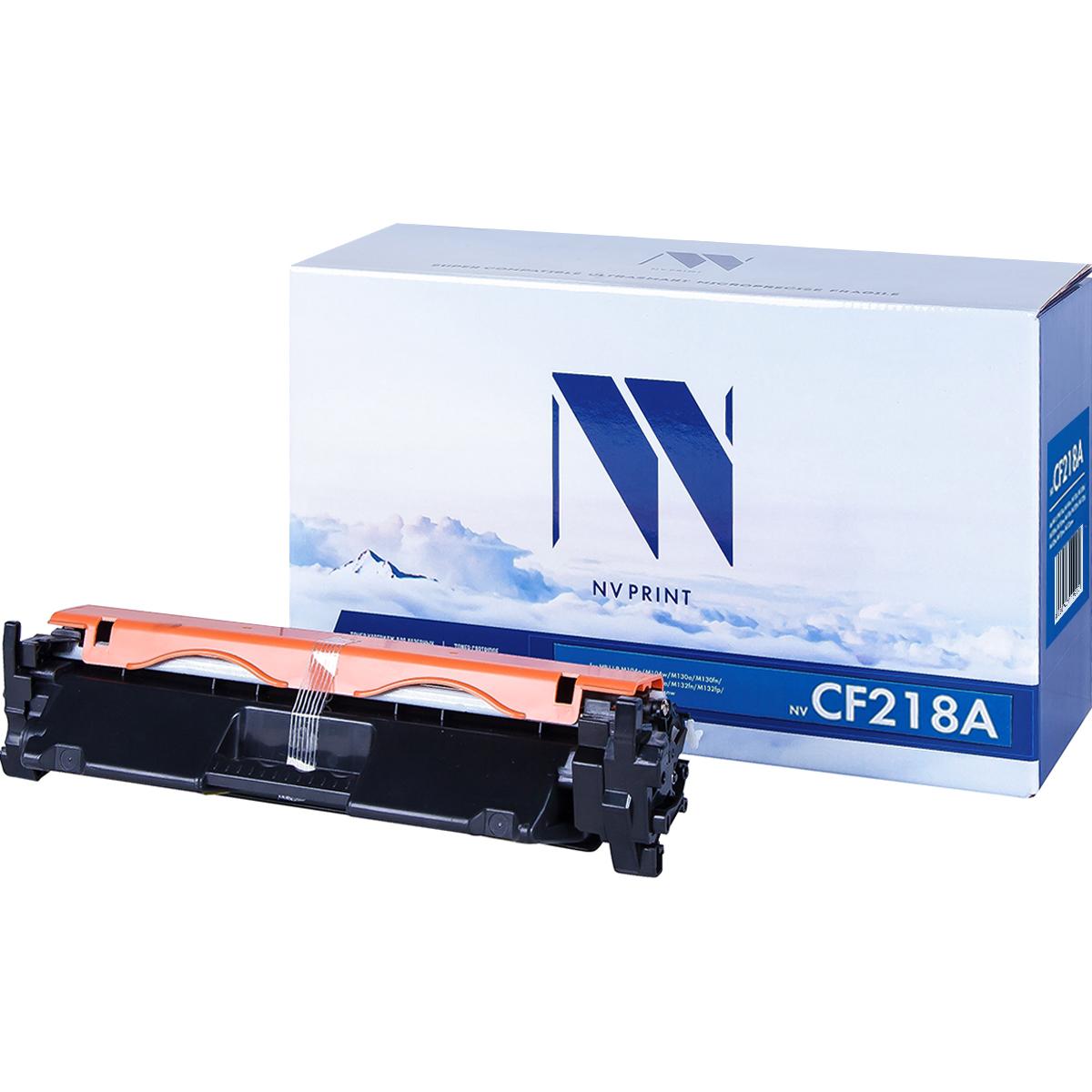 Картридж NVP совместимый HP CF218A (С ЧИПОМ)